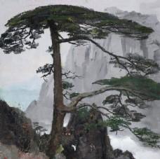 山水风景水墨国画