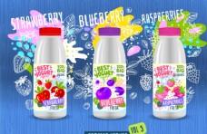酸奶瓶包装