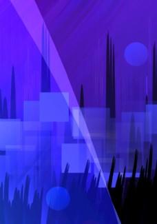 背景 蓝色 蓝紫 科技 底图