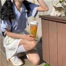 雏菊衬衫女
