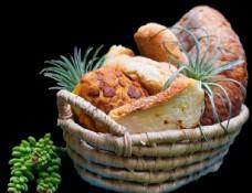 欧式篮里面包免扣