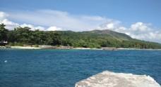 小岛 海水