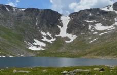 山脉 湖泊