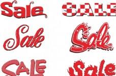 sale促销标签