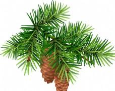 绿色树枝主题