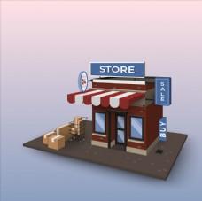 在线购物概念