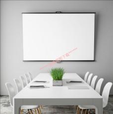 餐厅 桌椅 椅子  空白挂画