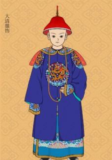清朝官员服饰1 古代官服 官服