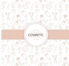 化妆品背景