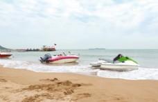 沙滩 游艇
