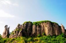 奇异造型的石头山