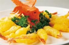 金沙脆皮虾