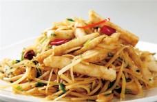 土豆丝炒馍条