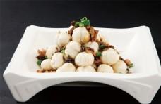 梅干菜炒汤圆