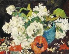 植物花朵装饰油画