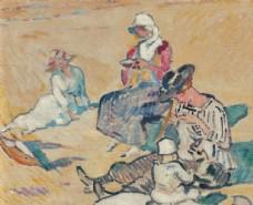 人物形象古典油画