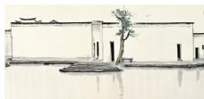 中国风水墨写意画