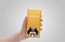巧克力盒样机
