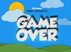 特效游戏英文字体