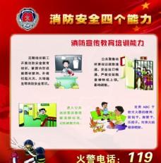 消防宣傳教育培訓能力