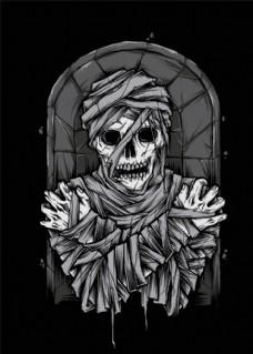 恐怖骷髅头