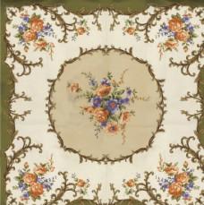 大牌 方巾 數碼 花朵 印花
