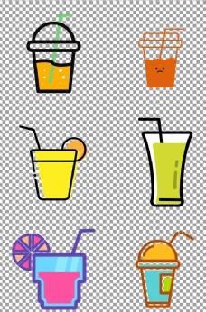 扁平化果汁