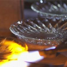 玻璃盘烧制