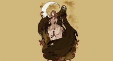 死神與女人