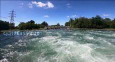 4k视频 水流风景