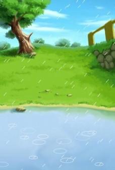 下雨as3代码