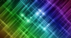 彩色渐变光芒背景