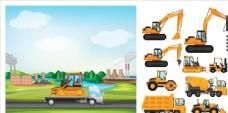 施工工地机械设备