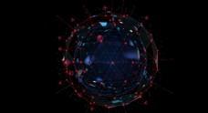 企业未来科技地球海报素材