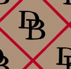 大牌花型 字母