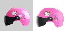 粉色兒童盔