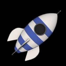 火箭发射动图