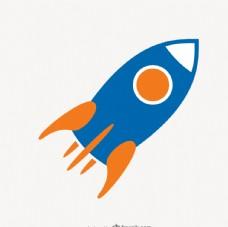 火箭矢量图标
