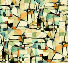 扎染 几何 抽象