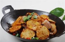 干锅腊肉土豆