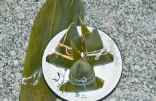 中国传统节日小吃粽子