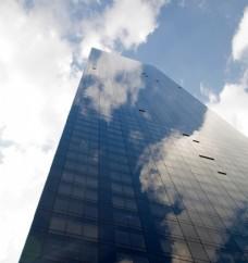 现代建筑 科幻建筑 玻璃幕墙