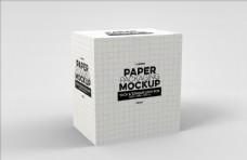 餐饮盒包装设计效果图