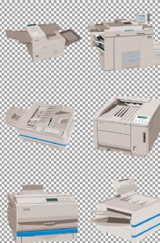白色高清打印机器材