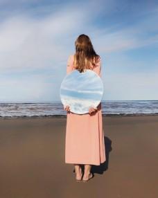 海灘 女人
