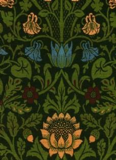植物花朵背景图案