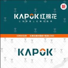 新版红棉花板材logo