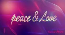 爱与和平电脑壁纸