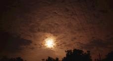 实拍大气震撼夜空延时摄影