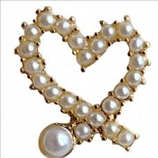 爱心珠子耳坠
